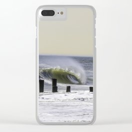 Tranquillity Clear iPhone Case
