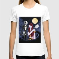 nightmare before christmas T-shirts featuring The Nightmare Before Christmas by Cécile Appert