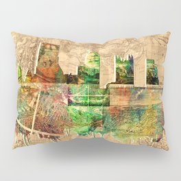 pittsburgh city skyline Pillow Sham