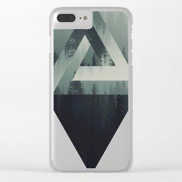 Triangel Clear iPhone Case