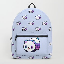 Kawaii Galactic Mighty Panda pattern Backpack