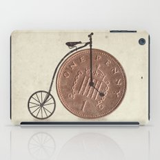 Penny Farthing iPad Case