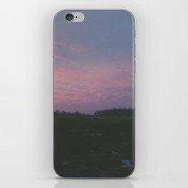Sunrise fields iPhone Skin