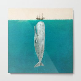 The Whale - Full Length - Option Metal Print