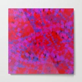 storm of squares Metal Print