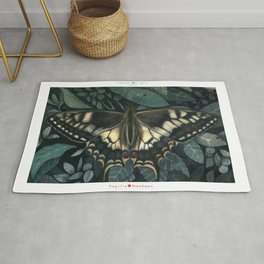 Butterfly Collection - Papilio Machaon Rug