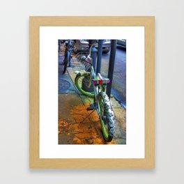 NOLA bike. Framed Art Print