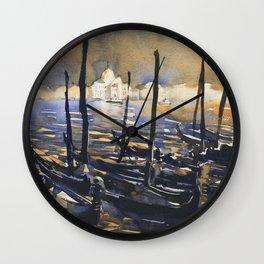 Church of San Giorgio Maggiore in the medieval city of Venice, Italy Wall Clock