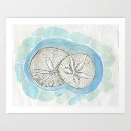 Sandollars Art Print