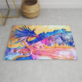 dragon benefico Rug