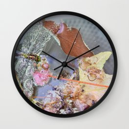 wet wings Wall Clock