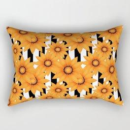 Yellow sunflowers . Rectangular Pillow