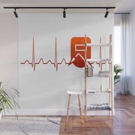 WELDER HEARTBEAT Wall Mural