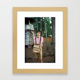 wonk? Framed Art Print