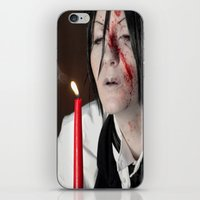 kuroshitsuji iPhone & iPod Skins featuring Sebastian Michaelis - Contract by Lalasosu2