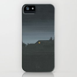 Wood Walk Ln. iPhone Case