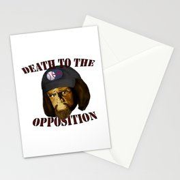 Death to the opposition Stationery Cards