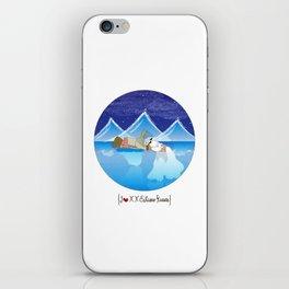 I {❤} XX Eskimo Kisses iPhone Skin