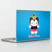 nurse Laptop & iPad Skins featuring Hellooo Nurse by thom2maro