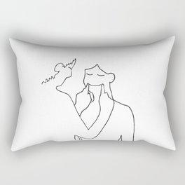 Keep Smiling Rectangular Pillow