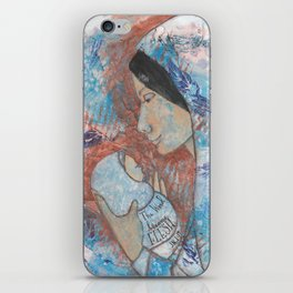 The Word by patsy paterno iPhone Skin
