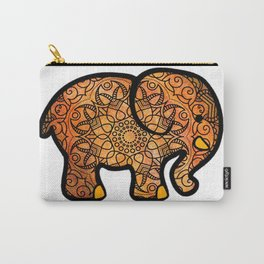 Watercolor mandla elephant Carry-All Pouch