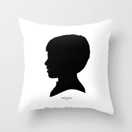 Will Carlson Silhouette Throw Pillow