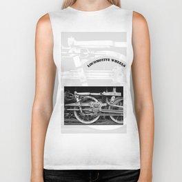 locomotive wheels Biker Tank