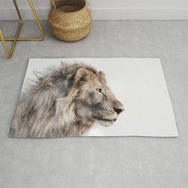 Lion Print Rug