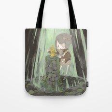 Lost Gauntlet Tote Bag