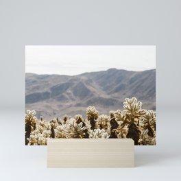 Cholla Cactus Garden Mini Art Print
