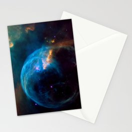 NGC 7635 Bubble Nebula Stationery Cards