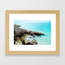 Crashing Waves Framed Art Print