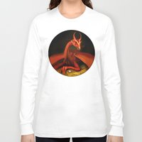 smaug Long Sleeve T-shirts featuring Smaug by Julia Lundgren