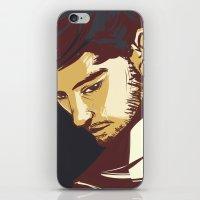 zayn malik iPhone & iPod Skins featuring Malik by Rosketch