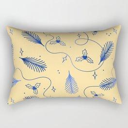 Discreet fir fritillary gift pattern Rectangular Pillow