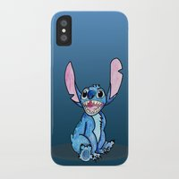 stitch iPhone & iPod Cases featuring Stitch by DROIDMONKEY