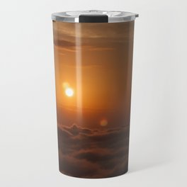 Three Sun SunSet Travel Mug