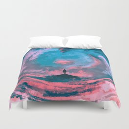The Great Parting Duvet Cover