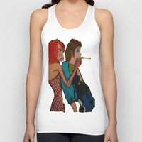 cigarette Tank Tops featuring cigarette by Samantha Sager