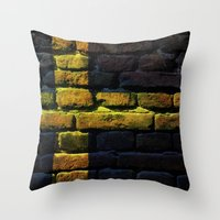 sweden Throw Pillows featuring Sweden by Nicklas Gustafsson