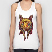 rare Tank Tops featuring BE RARE* - Iberic Lince by Vasco Vicente
