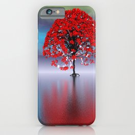 strange light somewhere -17- iPhone Case