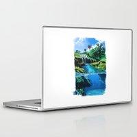 hawaii Laptop & iPad Skins featuring hawaii by Ca-roline