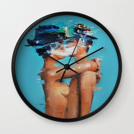 The breath Wall Clock