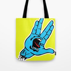 Screaming Vulcan Tote Bag