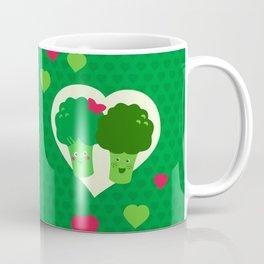 Broccoli in love Coffee Mug