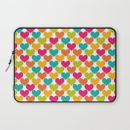 Lovely Hearts Laptop Sleeve