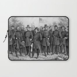 Union Generals of The Civil War Laptop Sleeve