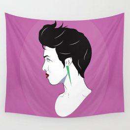 BianCamée Rose Wall Tapestry